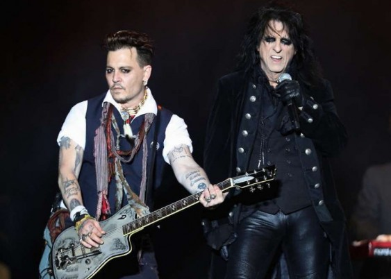 Тур на концерт Hollywood Vampires